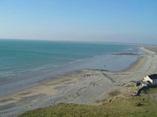 Dinas Dinlle Beach: Super view of the beach