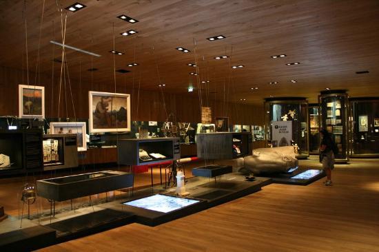 """Museum """"Das Tirol Panorama"""": Vue partielle du musée."""