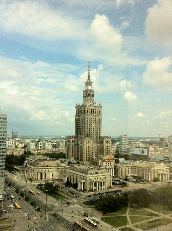 Iconic view of Warsaw