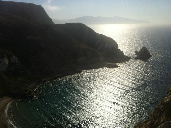 Overlooking Potato Harbor, Santa Cruz Island