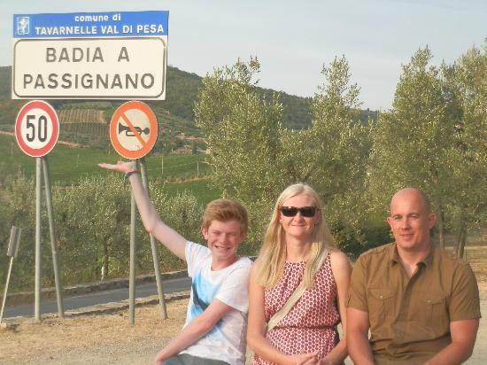 La Cantinetta di Passignano: The scenery