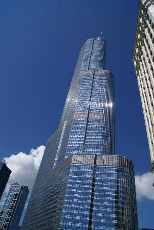 Trump International Hotel & Tower Chicago: Edificio
