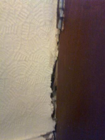 The Black Diamond: Holes in walls in bedroom