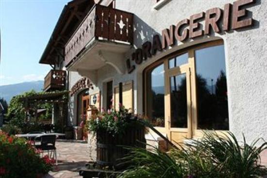 Auberge de l'Orangerie : Entrée du restaurant