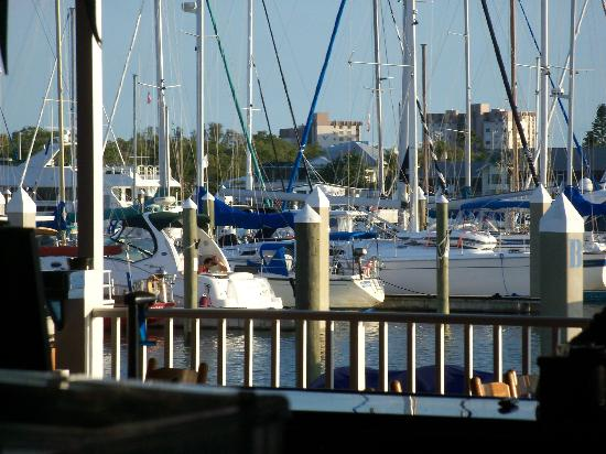 Big Game Waterfront Grill: View from outdoor seating at Big Bames