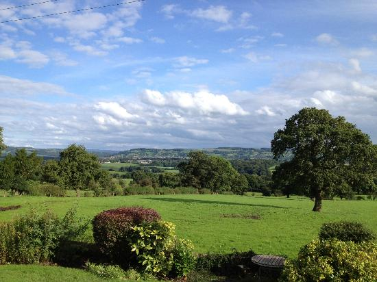 The Shireburn Arms: View of Ribble Valley