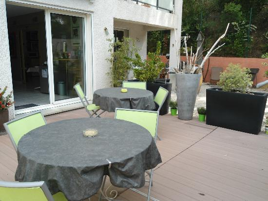 Sweet Home 34 : terrasse