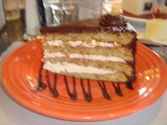 The Cheeze Factory Restaurant: Hazelnut Torte - I would liken this to Tiramisu - Delish!