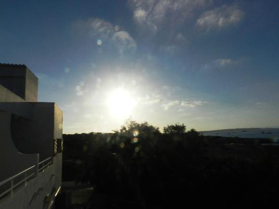 La Gaviota : Atardecer desde la terraza