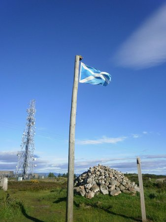 Brimmond Hill Country Park: Saltire