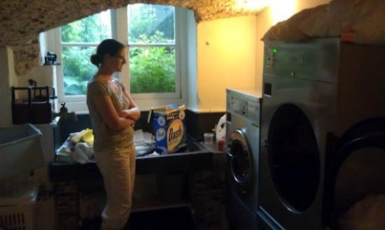 Hotel Patritius: Laundry Facility