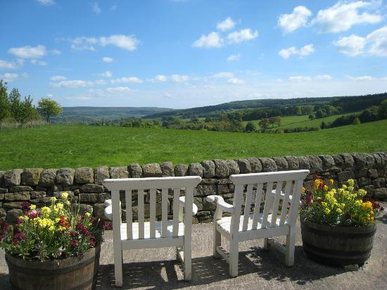 Chatsworth Estate Farm Shop Cafe: View from the restaurant