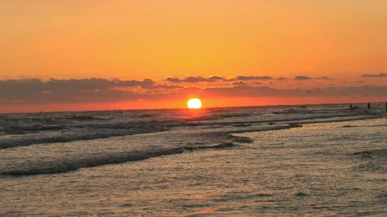 Siesta Beach: Siesta sunset