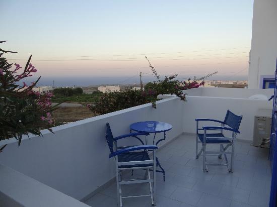 Melina Hotel: Balcony 2
