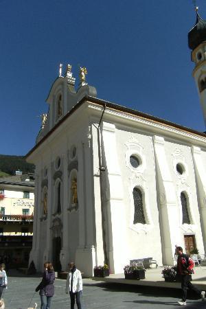 San Candido, Italia: laterale con pedana