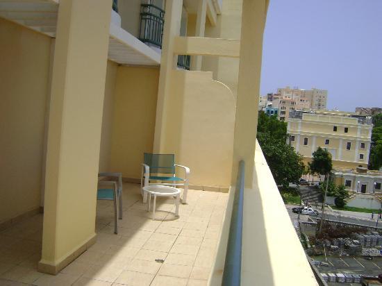 Sheraton Old San Juan Hotel: Balcony