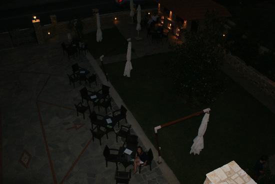 Glikadi Hotel: in the evening