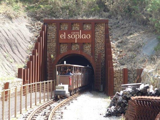 Cantabria, สเปน: Tren mina el Soplao