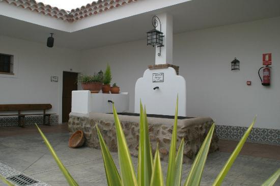 Hacienda Arroyo La Plata: Patio hotel