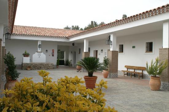Hacienda Arroyo La Plata: Patio interior