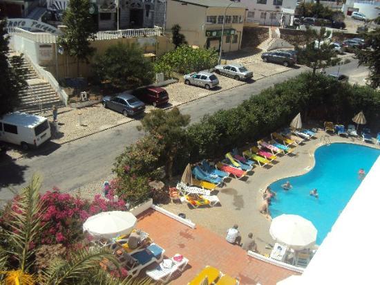 Hotel Mirachoro Albufeira : view from room 406