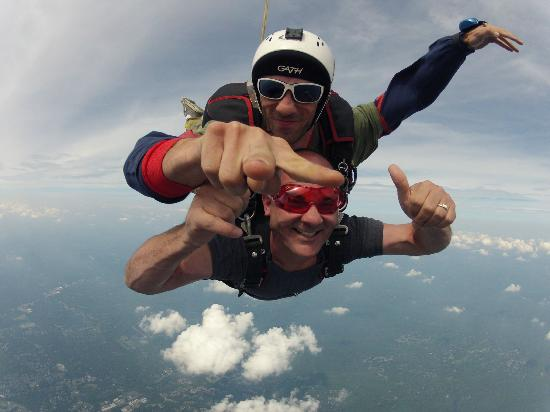 Sky's The Limit Skydiving Center: Kenny and STL -Brian (Tandem Skydiving)!