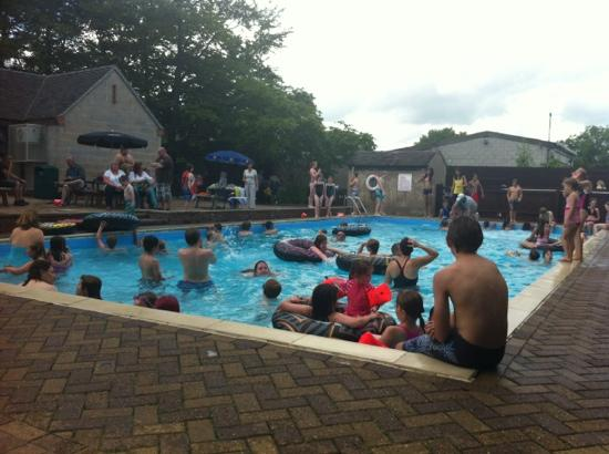 Outdoor Heated Swimming Pool Picture Of Callow Top Holiday Park Ashbourne Tripadvisor