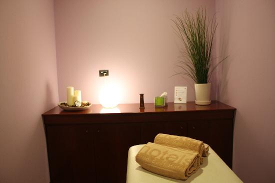 charla sala de masaje salida