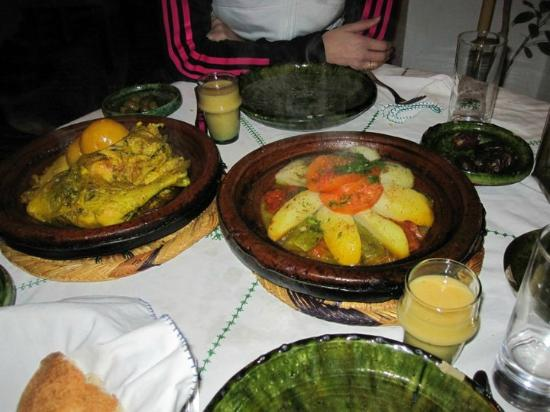 Dar Daif: La nourriture