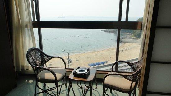 Shinojima Kanko Hotel Osumi: ビーチは近いが急な階段があります