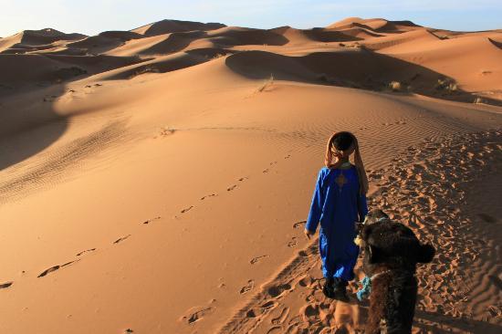 Kasbah Hotel Panorama: incamminandoci nel deserto