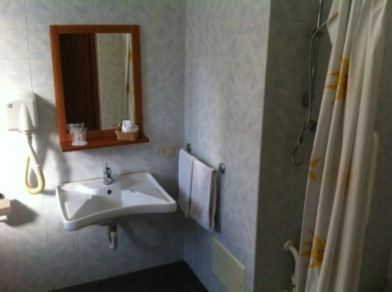 Hotel Villa Romeo: Badezimmer