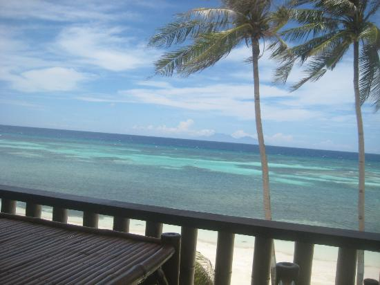 Anda, Philippinen: View from the restaurant