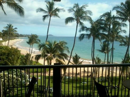 Mana Kai Maui: View from 4th floor