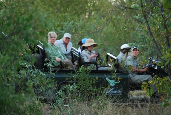 andBeyond Ngala Safari Lodge: the jeep