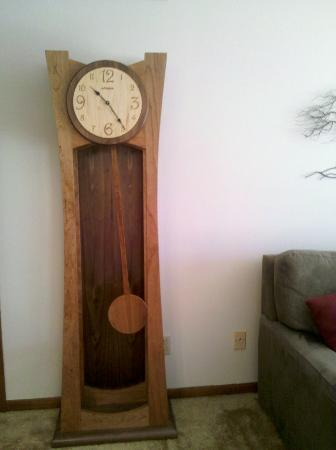 The Clock I Bought At The Amana Furniture Shop