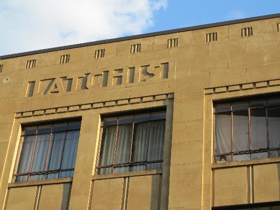 Latchis Hotel: Hotelfassade