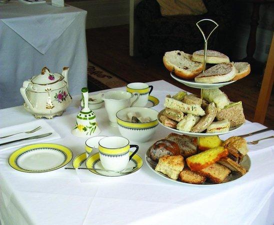 Paskeston Hall Country House: Our three tiered tea