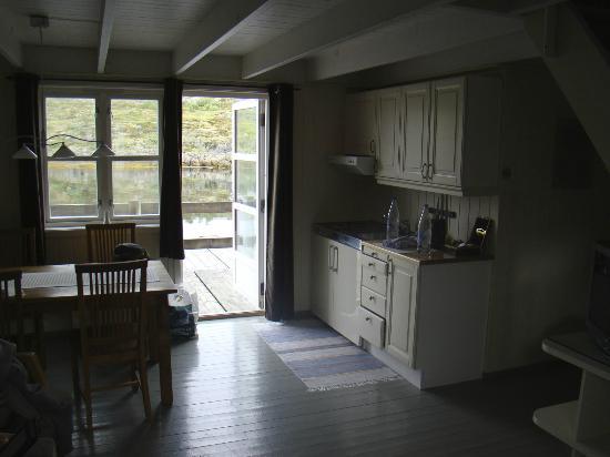 Nyvagar Rorbuhotel: cucina