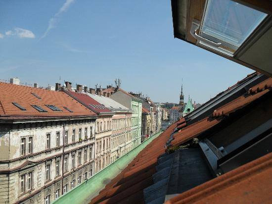 La Boutique Hotel Prague: View from the velux window