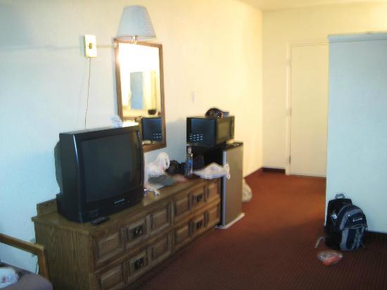 Rodeway Inn Page: IL MOBILE TV, IL FRIGO E IL MICROONDE