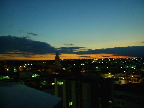 Plaza Inn Flat Araxa: Vista do terraço