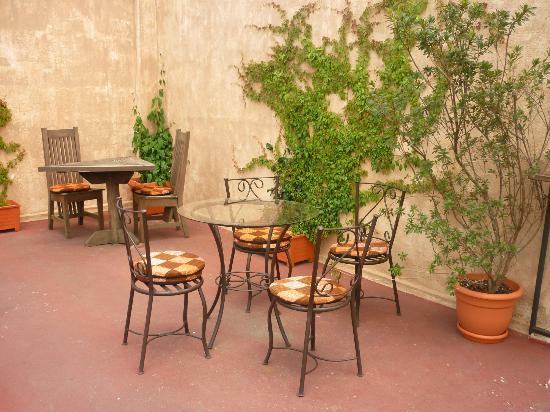 """Terraza """" la casaca """" un lugar tranquilo"""