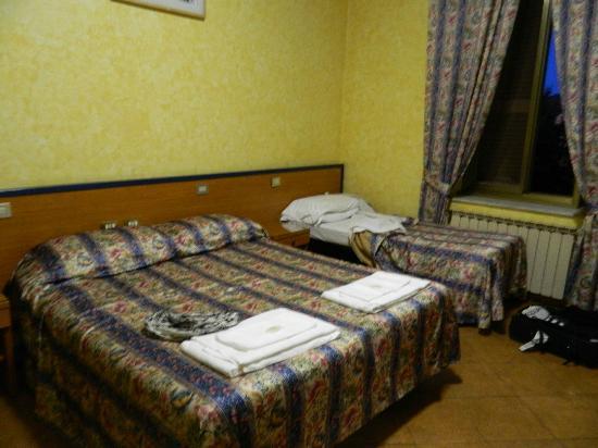 San Pietro Rooms: sängarna