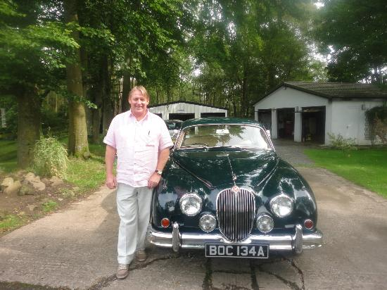Kennels Cottage Bed & Breakfast: 1960's Jaguar 3.4 Saloon