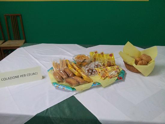 Villaggio Welcome Riviera d'Abruzzo: Colazione per soggetti celiaci