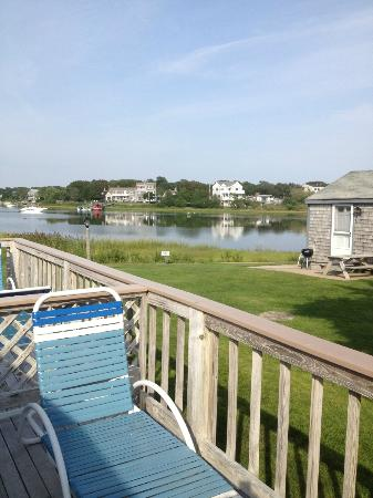 Green Harbor on the Ocean: View from deck (cottage 21)