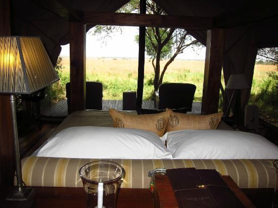 andBeyond Bateleur Camp: Wonderful room and view 