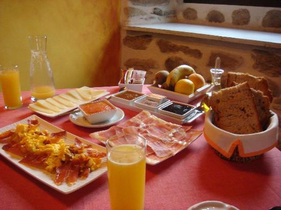 Casa do Batán: ¡Que desayunos¡