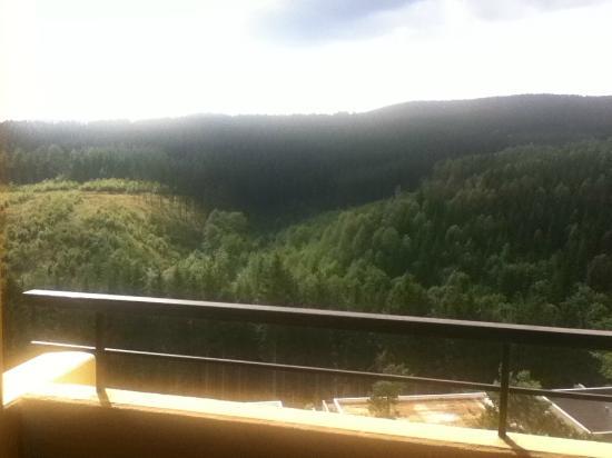 Panoramic Hohegeiss: Uitzicht vanaf de 8ste verdieping